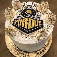 Grad cake by MerMade