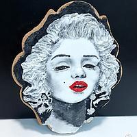 Marilyn versus Madonna by Gele's Cookies