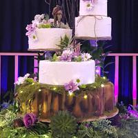 Cake Bark Tier