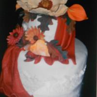 Harvest Cake by Maria Cazarez Cakes and Sugar Art