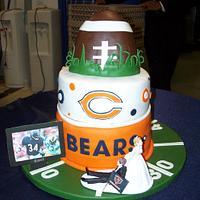 Chicago Bears Grooms Cake
