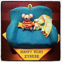 Toopy and Binoo birthday cake!