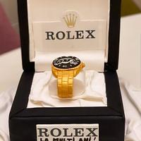 Rolex gift cake