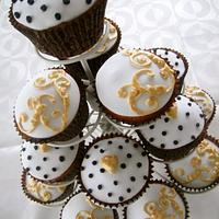 Chic Wedding Cupcakes