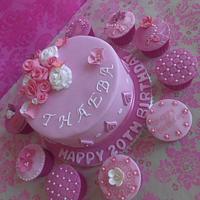 Accessorized cake