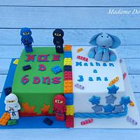 Ninjago / Elephant Cake