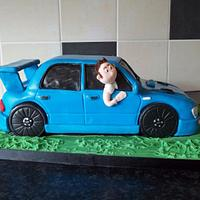 Scooby doo car cake