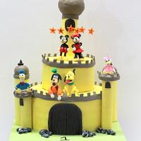 Mickey Mouse Castle