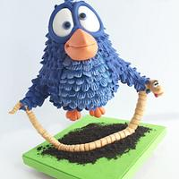 """For the Worm"" Cake"