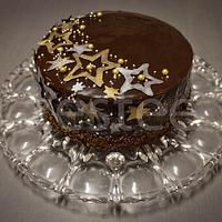 Chocolate Star Cake