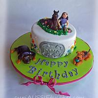 Animal lover cake