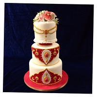 College assignment cake