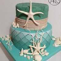 Beach cake!