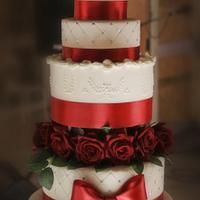 White & Red Wedding ♥