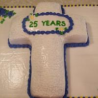 Minister Appreciation Cake by Judy Remaly