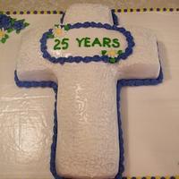 Minister Appreciation Cake