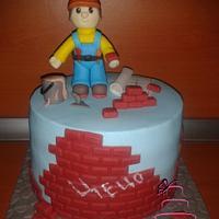 Cake for master builder