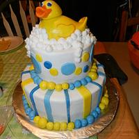 Rubbery Ducky Baby Shower