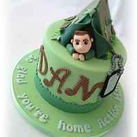 Homecoming Cake