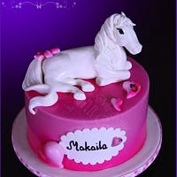 Fondant Pony cake