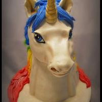 Star light UNICORN cake