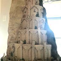 Minas Tirith Wedding Cake