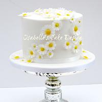Wafer Paper Daisy Wedding