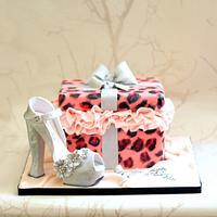 21st Birthday Cake for Denisha