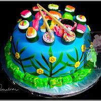 Japanese Food Cake