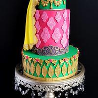 Spectacular Pakistan - Wedding cake