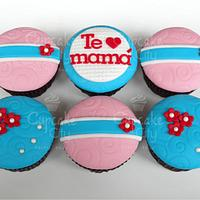 Mother's day cupcakes!