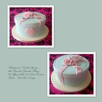 Hat Box Design Cake