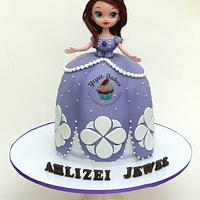 Sofia the First 3d Cake