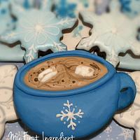 Marshmallow and hot cocoa