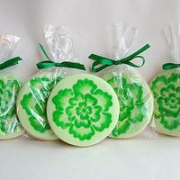 Mint Green cookies