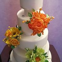 """Cake """"Almost Rainbow"""""""