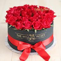 THE MILION ROSES CAKE