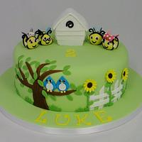 The Hive Themed Children's Birthday Cake