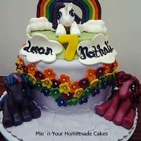 My Little Pony Theme Cake