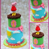 Peppa Pig! by Cakes By Julie