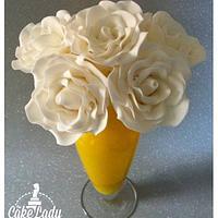 Flowerpaste roses