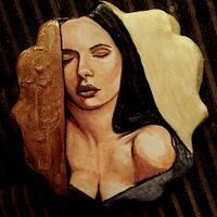 "Dreaming ""hand painted cookie"""
