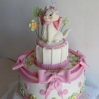 Marie, sweet kitty from Aristocats! by Silvia Costanzo