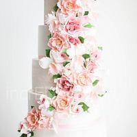 """""""Serenity""""- Wedding Cake"""