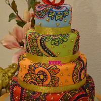 Henna cake by keekjes