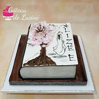 Japanese Art 3D cake