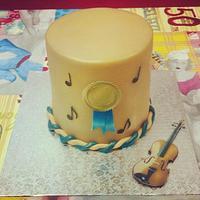 Music Cake.