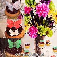 Butterflies Dreamland cupcakes