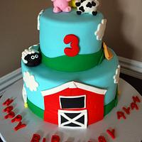 Barnyard Cake!