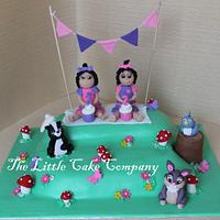 twins cake!